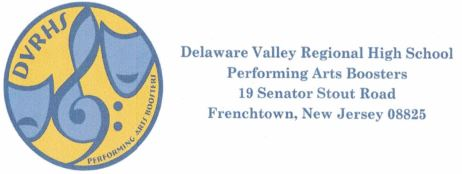 Delaware Valley Performing Arts Boosters
