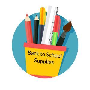 Back ti school supplies