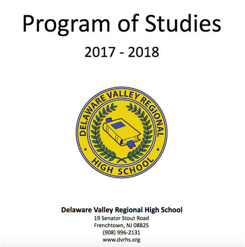 Program of Studies 17-18 Cover